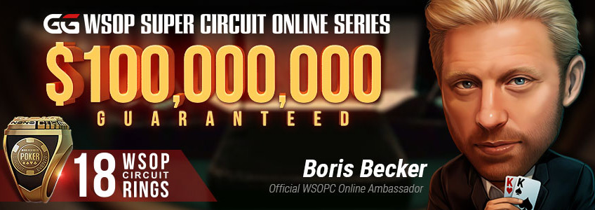 GG Network World Series of Poker Circuit Online привлекла в качестве амбассадора Бориса Беккера.